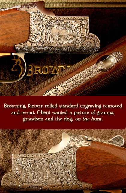 [Custom Engraved Restoration on Guns, Rifles, Revolvers and Knives]